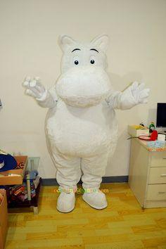 Moomin Valley Cartoon Character Mascot by cartoonmascotcostume