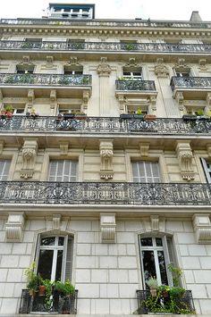 Beautiful apartments on Av. de l'Observatoire | Flickr - Photo Sharing!