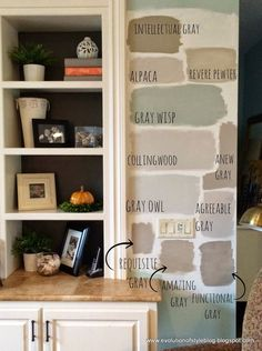 Lots Of Neutrals Paint Colors Kitchen Refresh Gray