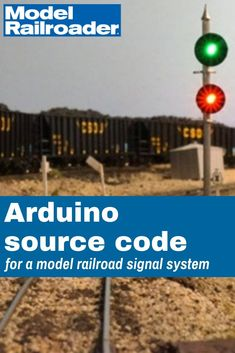 Get the source code for Detlef Kurpanek's Arduino-controlled model train signal system described in the December 2016 Model Railroader. Computer Projects, Arduino Projects, Electronics Projects, Ho Train Layouts, Model Railroader, Model Railway Track Plans, Giant Bubbles, Lego Trains, Mockup