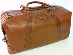 Fantastic Leather Duffel ...terrific price ...please click here