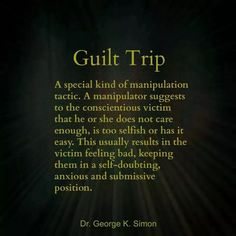 "A recovery from narcissistic sociopath relationship abuse. Using guilt trips to control and manipulate their victim. Playing on their emotions. Putting their ""spin"" on the truth to confuse and manipulate. This behavior is abusive! Narcissistic Mother, Narcissistic Sociopath, Narcissistic Personality Disorder, Narcissistic Behavior, Narcissistic People, Abusive Relationship, Toxic Relationships, Emotional Blackmail, Emotional Manipulators"