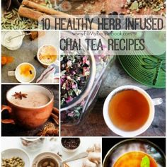 10 Healthy Herb Infused Chai Tea Recipes - Fill My Recipe Book Oxtail Recipes, Spicy Recipes, Tea Recipes, Chai Tea Recipe, Biltong, Healthy Herbs, Venison, Tea Time, Tasty