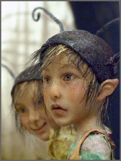 pixies by Tatjana Raum (Chopoli-Art) Woodland Creatures, Magical Creatures, Fantasy Creatures, Vladimir Kush, Elves And Fairies, Dark Fairies, Kobold, Thomas Kinkade, Fairy Art