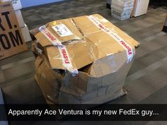Funny pictures about New FedEx Guy. Oh, and cool pics about New FedEx Guy. Also, New FedEx Guy photos. Lol, Haha Funny, Funny Cute, Hilarious, Funny Stuff, Funny Things, Funny Shit, Random Things, Random Stuff