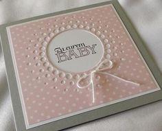 Geburtskarte von Liebe Grüsse auf DaWanda.com