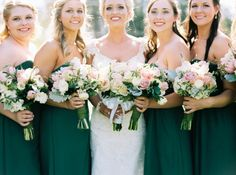 The most stunning emerald and gold military wedding, featuring a glittering Maggie Sottero wedding dress.