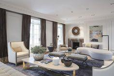 London Eaton Place Duplex bei Jean-Louis Deniot   #bocadolobo #luxusmöbel #exklusivesdesign #innenarchitektur #designideen #designinspirationen #designwelt #wohnideen   Quelle: https://goo.gl/cBfRN5