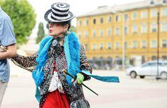 really inspirational. great anna piaggi at missoni #streetstyle via jak #TommyTon #fashion #moda #calle