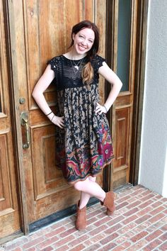 I love making summer dresses with a little crochet top piece. Here is an easy way to make a dress like this yourself! You...