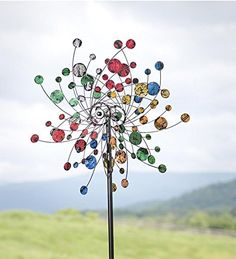 Garden Decor: Wind Sculptures. Beautiful!