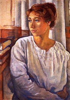 Zinaida Serebriakova Portrait of E.I. Finogenova