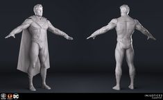 I was responsible for sculpting the highres character, model the game meshes, UVs and textures/ shaders for his story mode version. Special thanks to our Art team for their Injustice 2 Superman, Injustice 2 Characters, Video Game, Concept Art, Sculptures, Statue, Artwork, Black, Industrial