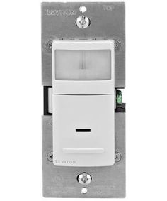 300-Watt Incandescent, 150-Watt LED/CFL Occupancy Sensor (Auto ON/Auto OFF), Single Pole, IPS02-1L - Leviton - 1