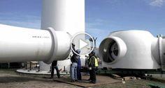 O Impressionante Processo De Montagem De Uma Turbina Eólica http://www.funco.biz/impressionante-processo-montagem-turbina-eolica/