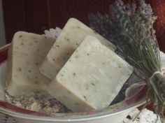 Lavender Oatmeal Soap by AnnieandElmo on Etsy, $5.75