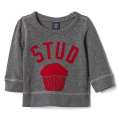 Stud Muffin Shirt for Baby Boys from Gap