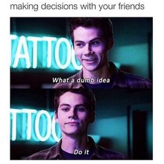 Decision making as it applies to school, friends, and life...?