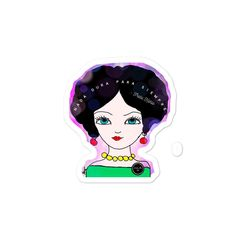 Frida Inspired Sticker - FREE SHIPPING - 3x3