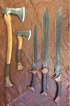 Small axe in middle