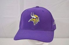 4bf96e128a4 Minnesota Viking Purple Reebok Baseball Cap Adjustable  Reebok  BaseballCap