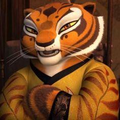 Master Tigress From Kung Fu Panda 3 Tigress Kung Fu Panda, Dragon Warrior, Dreamworks Animation, Arte Pop, Disney Films, Disney Pictures, Print Pictures, Power Rangers, Cartoon Characters