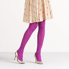 #ridecolorfully - winter spring summer or fall with these magenta tights. #katespade #vespa