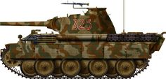 Panther Ausf.A, 12th SS Panzerdivision - HitlerJügend