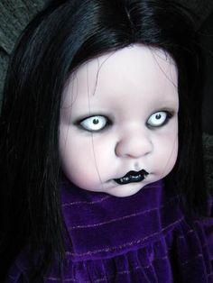 Custom Gravebabies Horror Art Vampire Halloween Doll