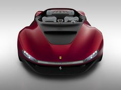 Pininfarina Sergio Concept Front view render