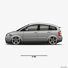 Audi A2, Volkswagen Golf Mk1, Automobile, Car Sketch, Car Painting, Car Wallpapers, Art Cars, Cars And Motorcycles, Jaguar