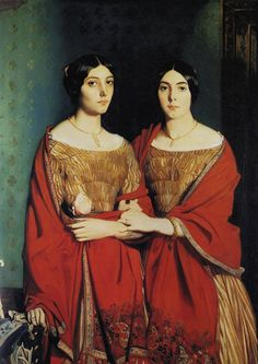 Theodore Chasseriau, The Two Sisters, c. 1843
