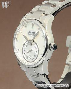 Union Glashütte Seris kleine Sekunde D004.228.16.116.00-(4319)- bei Uhren - Wellmann