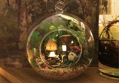 Creative DIY Totoro Terrarium Craft Kit by ZakkaMart on Etsy