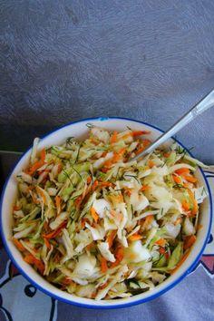 Surówka obiadowa z octem balsamicznym
