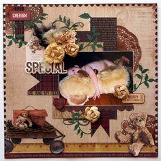 Kaisercraft - Teddy Bear's Picnic - Collette