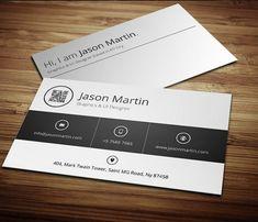 Metro Style Minimal Business Card #businesscards #businesscarddesign #psdtemplates #corporatedesign