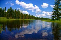 Whirlpool Lake - Riding Mountain National Park-Manitoba Provincial Park