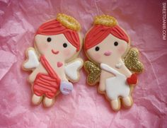 Love Angel besties by Sweet Dani B... learn how to make them at www.youtube.com/sweetdanibTV