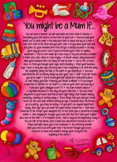 One for the Mums...