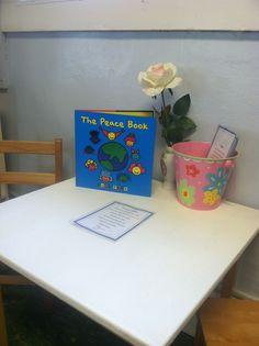 The Peace Table- prek classroom