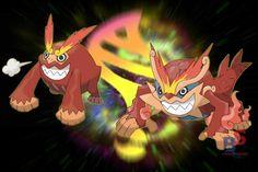fake Mega evo- Mega Darmanitan by badafra on DeviantArt Pokemon Fake, Pokemon Alola, Pokemon Fan Art, Pokemon Fusion, Cute Pokemon, Mega Evolution Pokemon, Pokemon Breeds, Pokemon Universe, Pokemon Pictures
