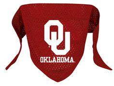 Oklahoma Sooners NCAA Licensed Dog Bandana