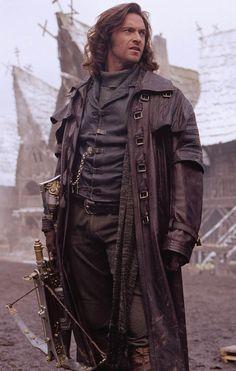Van Helsing (Hugh Jackman) - Van Helsing (2004) | male warrior | character inspiration | writing | filmmaking | screenwriting | story (Gaston)