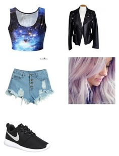 """""""Untitled #3"""" by aisha-lunkins on Polyvore featuring WithChic, NIKE, Alexander McQueen, women's clothing, women's fashion, women, female, woman, misses and juniors"""