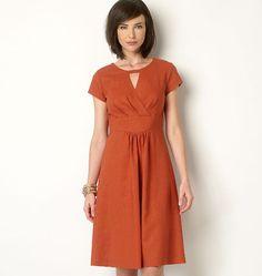 B6168, Misses' Tunic and Dress