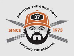 Met him at Think Tank. This guy is a hilarious badass. | Aaron Draplin Design DDC >> He is such a great person!