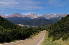 Highway of Legends, Trinidad to Walsenburg Co.  Beautiful scenery.