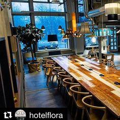 """""""Tack för en fin artikel!"""" skriver @hotelflora i dag til avisen Dagens Industri 👏😊De har skrevet om dette sjarmerende lille hotellet i Gøteborg som jeg besøkte for noen år siden, og anbefaler som et prisgunstig og lekkert sted med god mat og atmosfære 😃👍#unikesteder #göteborg #hotelflora"""