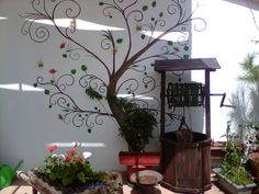 teras dekor duvar